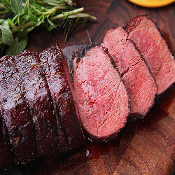 low-Roasted American beef